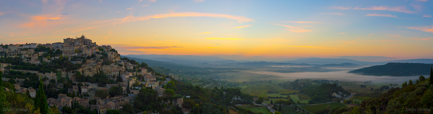 Sunrise Gordes Vallys Cote d'Azur