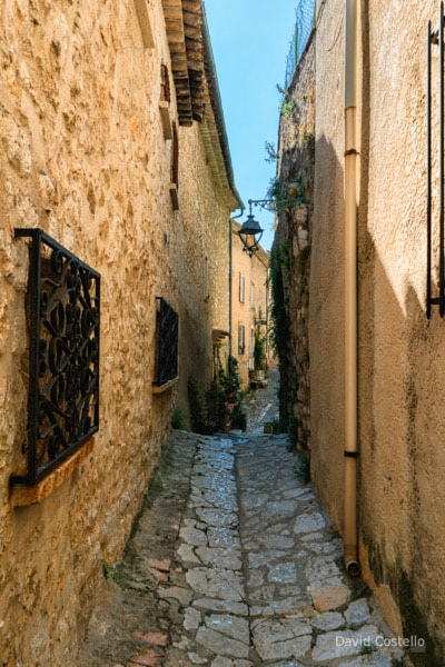 The Narrow Streets of Saint-Paul de Vence