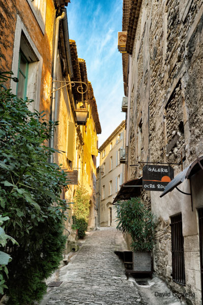Gordes Sunrise Morning Streets