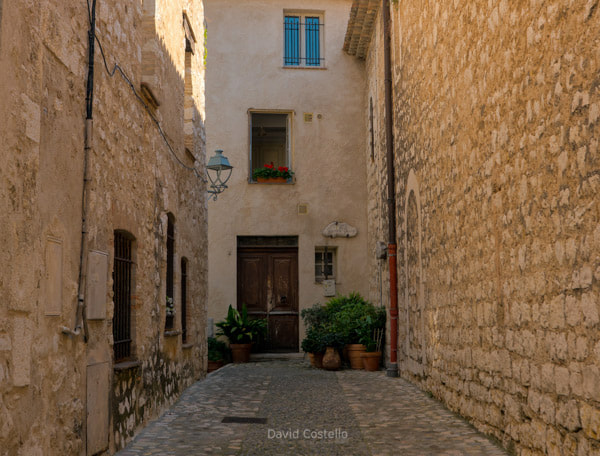 Passageways of Saint-Paul de Vence - Côte d'Azur