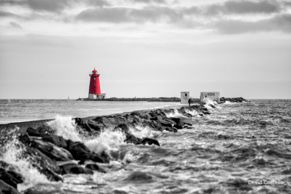 Spring Tide at the Poolbeg Lighthouse